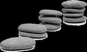 Three Piles of Stones