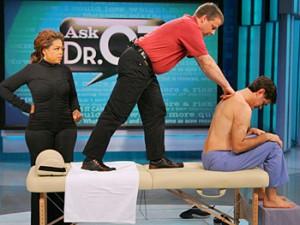 Dr. Oz gets Rolfed with Oprah Winfrey